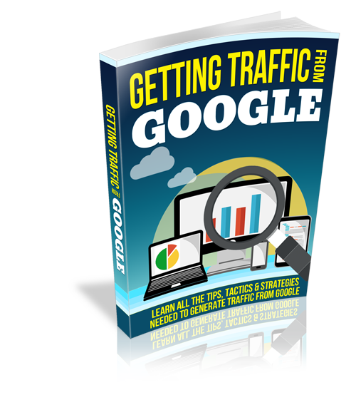 free download getting traffic from google e book web direction